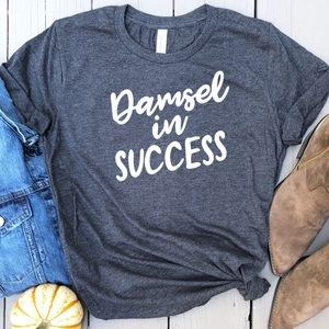 Tops - Damsel in Success tee graphic t-shirt top New!